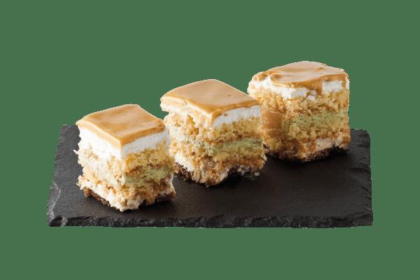 Monoporzione Pistacchio e Caramello | Dolce Vivere