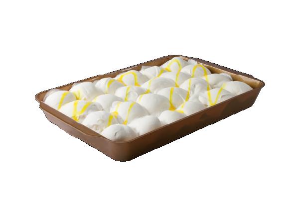 Dolci in vaschetta | Profiteroles Limoncello