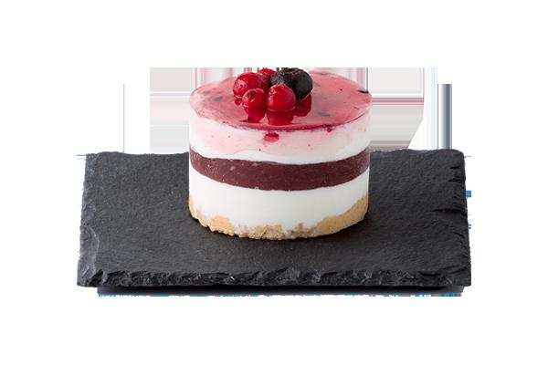 Cheesecake ai Frutti di Bosco   Monoporzione Dolce Vivere